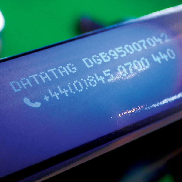 Datatag Stealth UV Etch