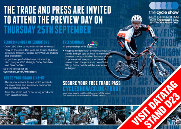 Cycle Show 2014 Trade Pass