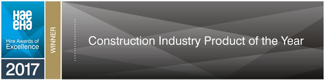 HAE Construction Industry Product of the Years Finalist 2017
