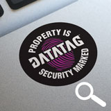 Home Marking Property Warning Decal