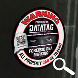 Home Marking Window Warning Decal