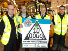 JCB BUILD 100,000TH CESAR REGISTERED MACHINE
