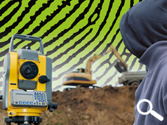 DATATAG LAUNCH SECURITY SYSTEM FOR SURVEYING EQUIPMENT