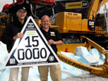CESAR HITS 150,000 REGISTRATIONS WITH CAT AT HILLHEAD