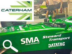 DATATAG SPONSOR THE CATERHAM F1 TEAM IN DRAMATIC APPEARANCE AT ABU DHABI GRAND PRIX