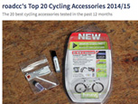 roadcc's TOP 20 CYCLING ACCESSORIES 2014/15