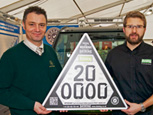 JOHN DEERE GATOR IS UNVEILED AS THE 200,000TH CESAR MARKED MACHINE AT LAMMA 2015