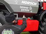 ADAM HENSON SHOWCASES HIS CESAR PROTECTED CROP SPRAYER AT LAMMA