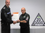 A SURREY POLICE OFFICER COMPLETES ALL THREE IMI AWARDED DATATAG COURSES