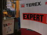 TEREX BACK CESAR AT THE EXECUTIVE HIRE SHOW