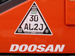53 TONNE CESAR MARKED DOOSAN