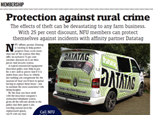 NFU - PROTECTION AGAINST RURAL CRIME