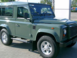 CAR THIEVES TARGETING LAND ROVER DEFENDERS