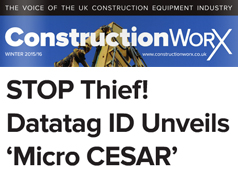 STOP THIEF! DATATAG ID UNVEILS 'MICRO CESAR'
