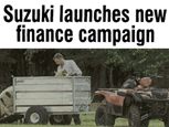 THE FARMER NEWS ARTICLE ON SUZUKI ATV CAMPAIGN