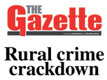JOHNSTONE RENFREWSHIRE GAZETTE ARTICLE ON RURAL CRIME