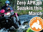 AGRICULTURAL TRADER ARTICLE ON SUZUKI ATV CAMPAIGN