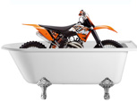 MOTORCYCLE FOUND IN A BATH IDENTIFIED!