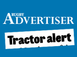 RUGBY ADVERTISER NEWS ARTICLE - TRACTOR THEFT
