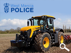 TRACTOR THEFT TRAINING IN SHROPSHIRE