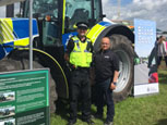 DATATAG SUPPORT CHESHIRE POLICE AT COUNTY SHOW