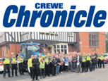 CREWE CHRONICLE NEWS ARTICLE - Night of Action to Tackle Rural Crime
