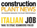 CONSTRUCTION PLANT NEWS NEWS ARTICLE - Italian Job 'HIRE TO STEAL'
