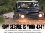 HOW SECURE IS YOUR 4x4