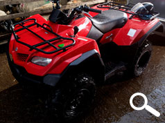 SUZUKI ATV CUSTOMERS AMAZED BY RESULTS OF FITTING DATATAG