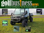 GOLF BUSINESS NEWS FEATURE - JOHN DEERE EXPANDS ITS USE OF CESAR ON THE GATOR RANGE