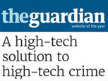 THE GUARDIAN (ON THE PULSE) NEWS FEATURE - A HIGH-TECH SOLUTION TO HIGH-TECH CRIME
