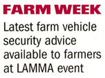 FARM WEEK FEATURE - LAMMA EVENT