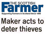 THE SCOTTISH FARMER FEATURE - MAKER ACTS TO DETER THIEVES