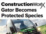 FEATURE ARTICLE CONSTRUCTION WORX - GATOR BECOMES PROTECTED SPECIES