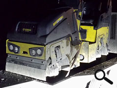NICK MAYELL ASSISTS OFFICER IDENTIFY STOLEN BOMAG