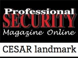 FEATURE ARTICLE IN PROFESSIONAL SECURITY - CESAR LANDMARK